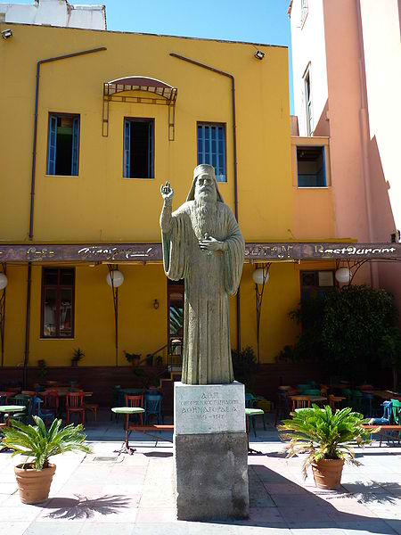 450px-Statue_of_Athenagoras_in_Chania