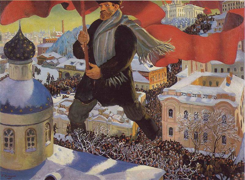 800px-Kustodiev_The_Bolshevik