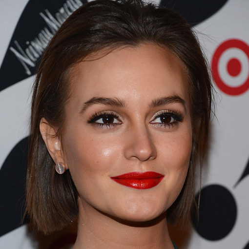 1. leighton meester aries red