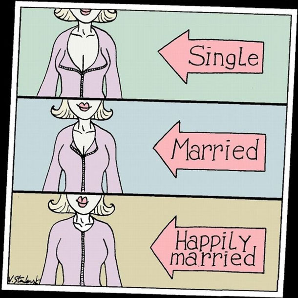 Single-Married-Happily-Married