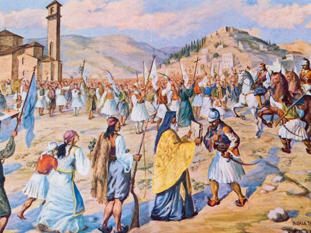 1821-Η Επανάσταση κατά των Οθωμανών
