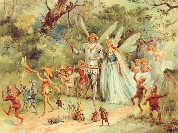 Ο Ποσειδώνας στους Ιχθύες-Τα δώδεκα παραμύθια