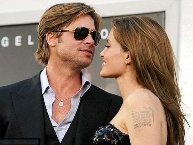 Η Angelina Jolie έχει τον Brad πάντα μαζί της