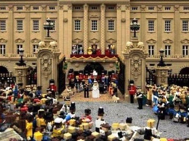 Ο Βασιλικός γάμος στη χώρα των Lego