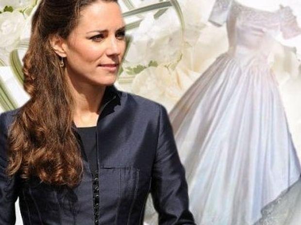 14+Σήμερα: Τρία νυφικά διάλεξε η Kate Middleton