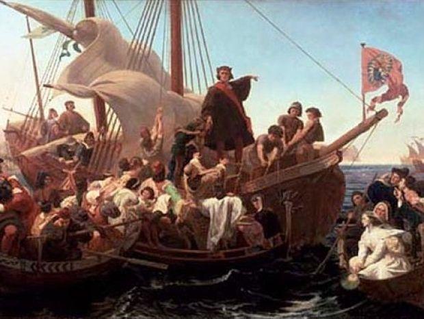 Ο Χριστόφορος Κολόμβος μπόρεσε να ανακαλύψει την Αμερική επειδή ΗΤΑΝ