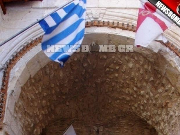 Κατέβασαν την ελληνική σημαία από τα Ιεροσόλυμα