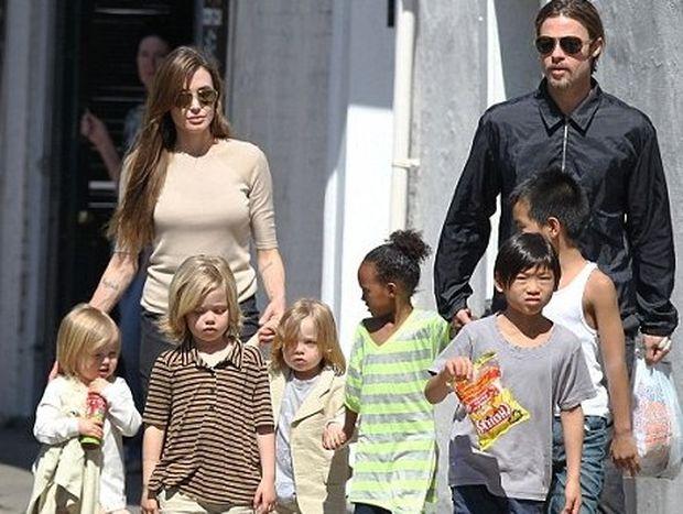Τέρμα το σχολείο για τα παιδιά της Angelina Jolie