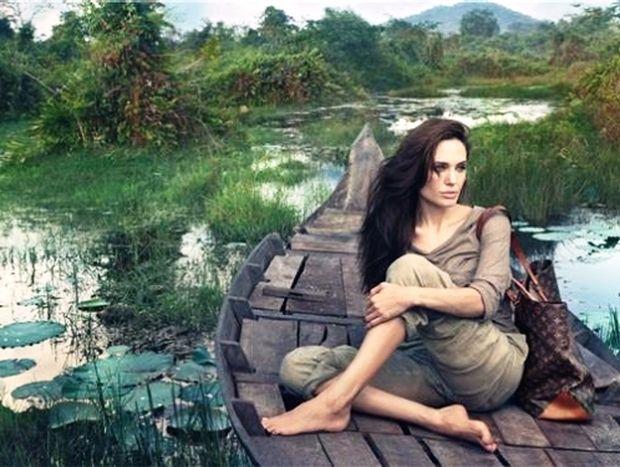 Angelina Jolie και Louis Vuitton: η πρώτη φωτογραφία