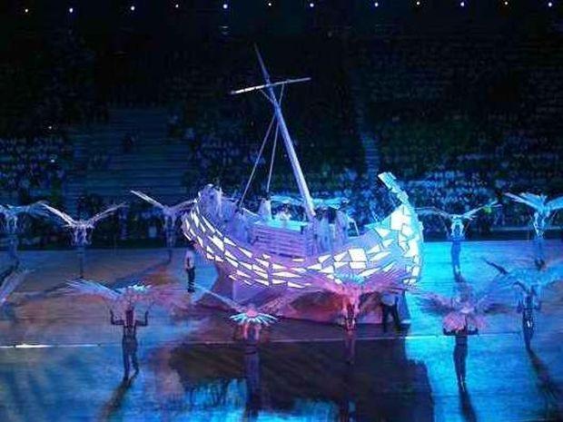 H τελετή έναρξης των Special Olympics