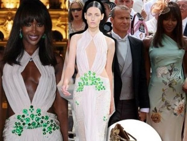 Naomi Campbell: ένας γάμος, δυο εμφανίσεις, μάξιμουμ πολυτέλεια