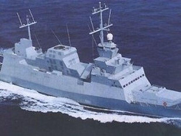 Το «αόρατο» ισραηλινό πολεμικό πλοίο στη Σαλαμίνα