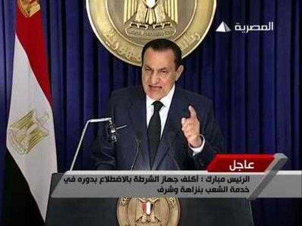 Στο σκαμνί ο Μουμπάρακ
