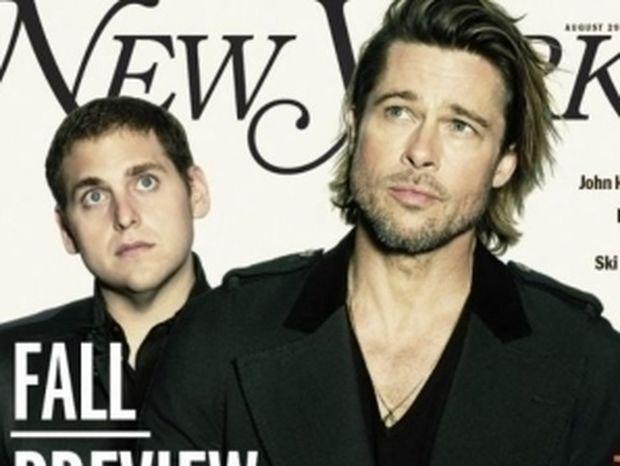 Ο Brad Pitt στο εξώφυλλο του New York Magazine