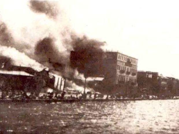 Σεπτέμβριος 1922 - Η Σμύρνη μάνα καίγεται