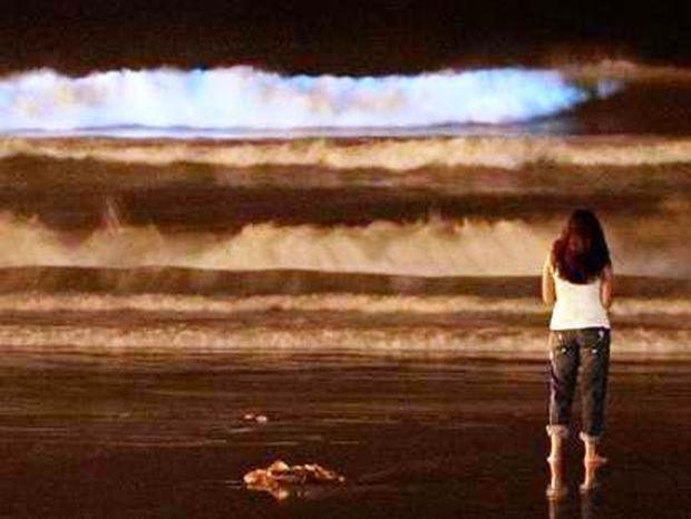 Φωσφορούχα κύματα στην ακτογραμμή του Σαν Ντιέγκο!