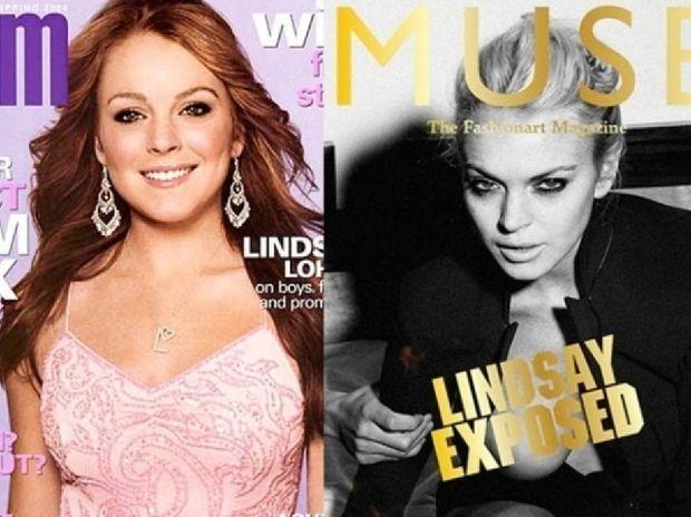 H Lindsay στη μόδα: από την αρχή, μέχρι την καταστροφή