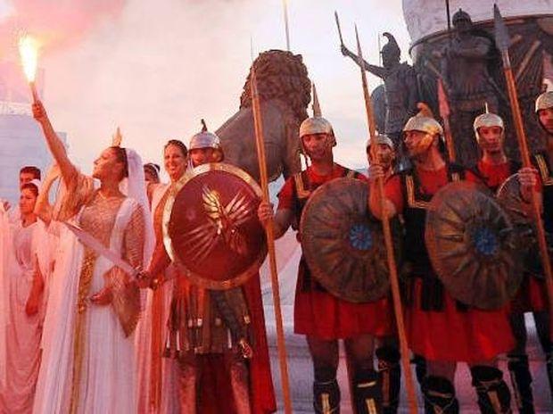 Προκλητική προβολή στο CNN των Σκοπίων ως Μακεδονία