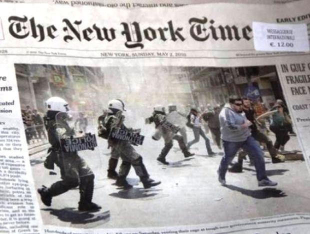 NY Times: Οι Έλληνες βουλευτές προσλαμβάνουν τις γυναίκες τους!