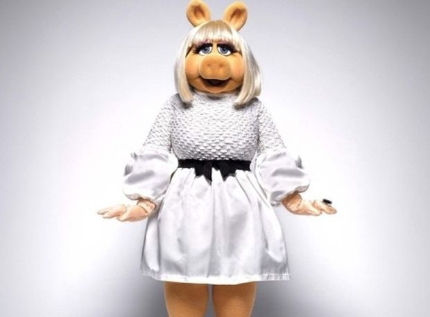 To editorial μόδας της Miss Piggy