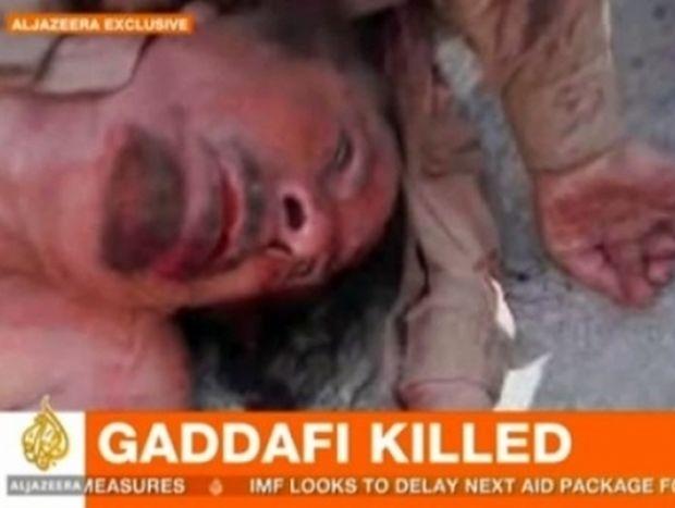 Βίντεο Ντοκουμέντο με τον νεκρό Μουαμάρ Καντάφι