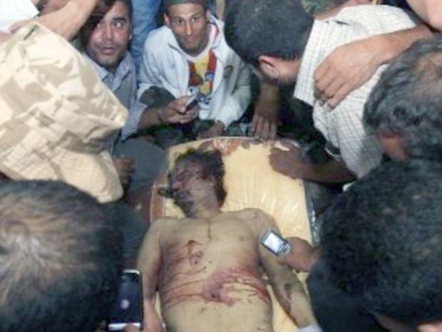 Μια σφαίρα για τον Καντάφι