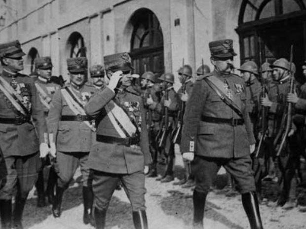Η μάχη των στρατηγών-Αλέξανδρος Παπάγος και Pietro Badoglio