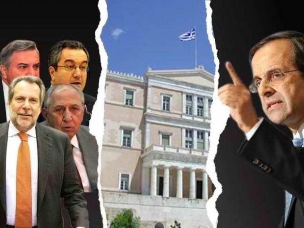 Ν.Δ.: Να φύγουν Παπουτσής, Καστανίδης, Παπαϊωάννου, Μόσιαλος