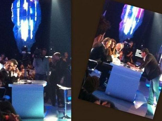Φωτό Backstage: Οι παρατηρήσεις του Λάτσιου στους κριτές του Dancing on ice