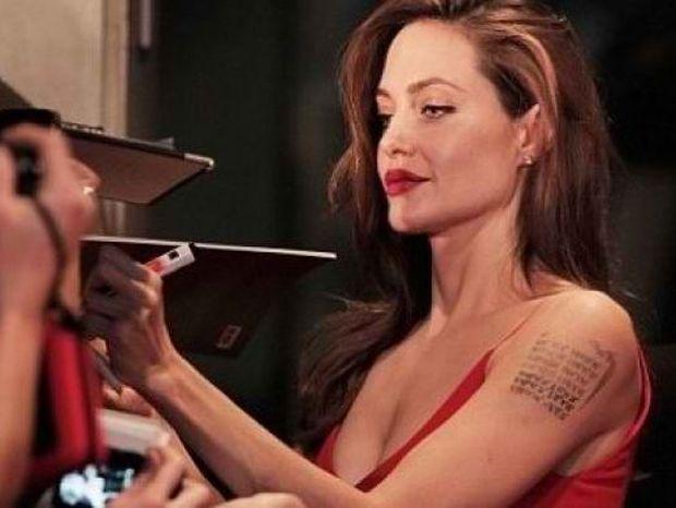«Φωτιά στα κόκκινα» η Angelina Jolie στην πρεμιέρα του Brad Pitt