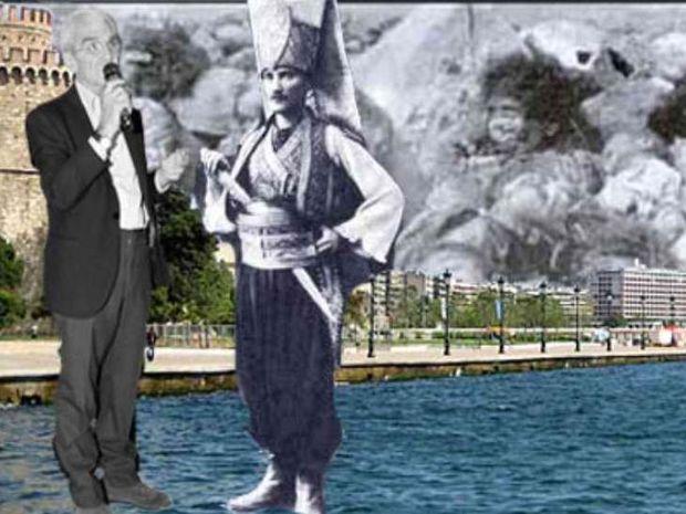 ΣΟΚ: Άγαλμα του Κεμάλ Ατατούρκ θέλει να τοποθετήσει στην Πλ. Αριστοτέλους ο Μπουτάρης!