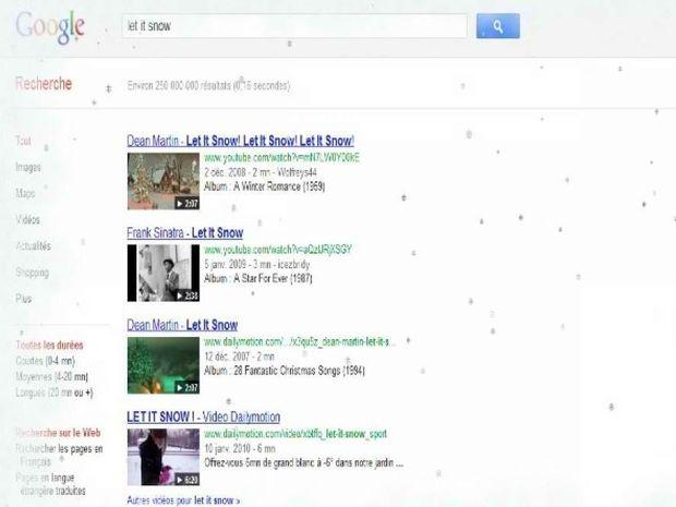 Κι όμως: Αν γράψεις Let it snow στο Google θα χιονίσει!