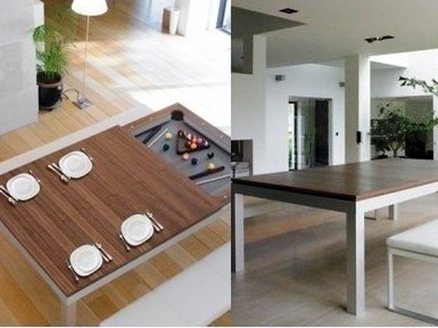 Μάζεψε τα πιάτα να παίξουμε μια παρτίδα μπιλιάρδο!