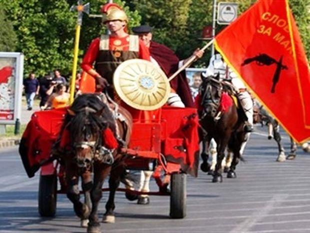 VIDEO-ΣΟΚ: Σύνθημα Σκοπιανών «Θα πάρουμε τη Θεσσαλονίκη»