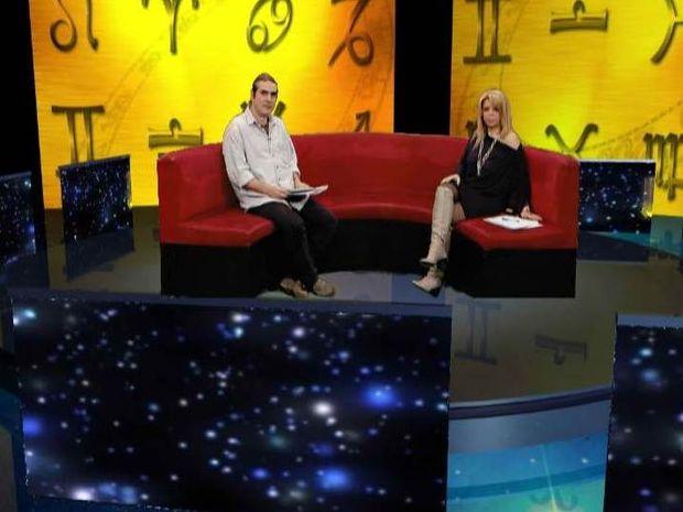 Έχεις άστρο... στο Channel 9  με τη Β. Κόντη και το Γ. Ριζόπουλο