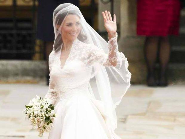 Το νυφικό της Kate Middleton ήρθε δεύτερο