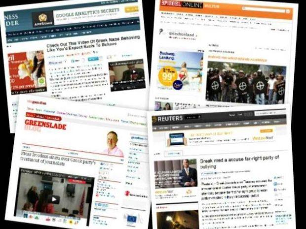 Το «εγέρθητι» και η Χρυσή Αυγή στα ξένα media