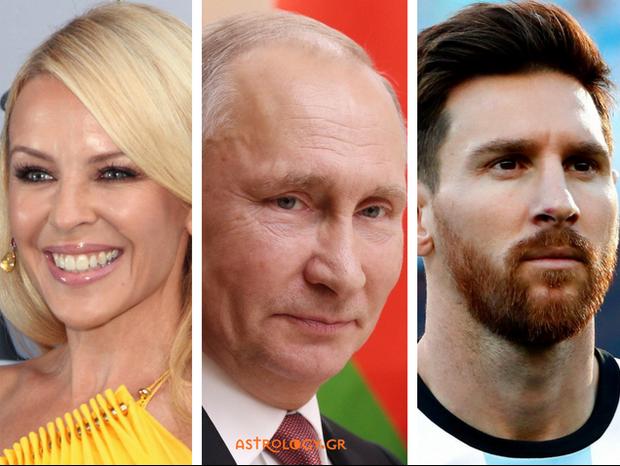 Τι κοινό έχει η Κάιλι Μινόγκ με τον Πούτιν και τον Μέσι;