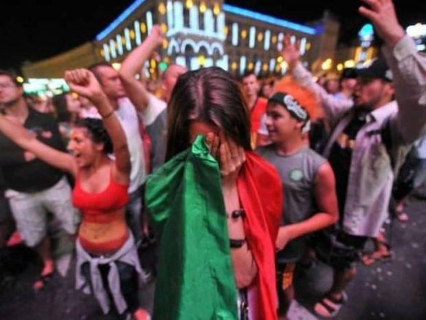 Η απογοήτευση των Ιταλών (photos+video)