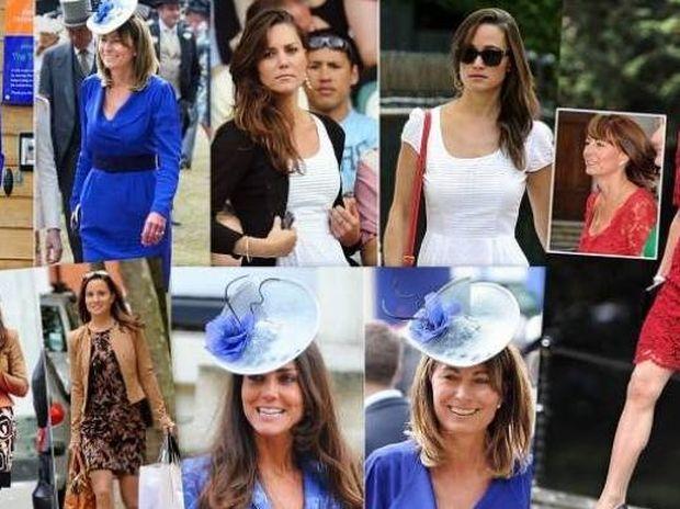 Απίστευτο:Η πριγκίπισσα Kate φοράει τα ρούχα της μαμάς και της αδελφής της