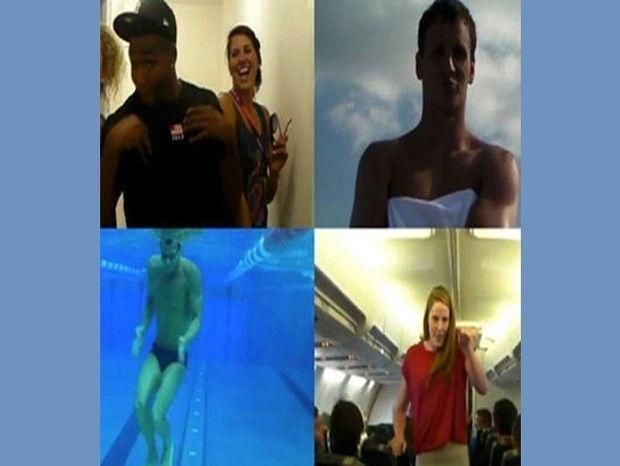 Η ομάδα κολύμβησης της Αμερικής σε ένα ξεκαρδιστικό βίντεο!