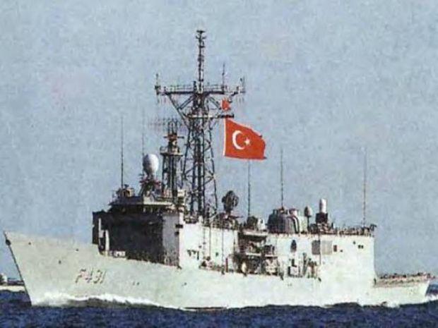 Τουρκική φρεγάτα έφτασε μέχρι τις Κυκλάδες!