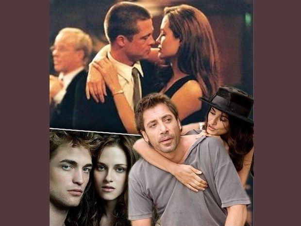 Διάσημοι έρωτες που γεννήθηκαν στα κινηματογραφικά πλατό