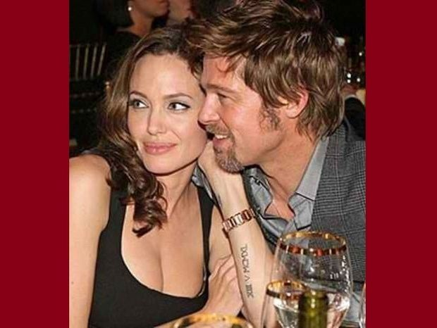 Η Angelina ντύνει τον Brad με εσώρουχα... του Beckham!