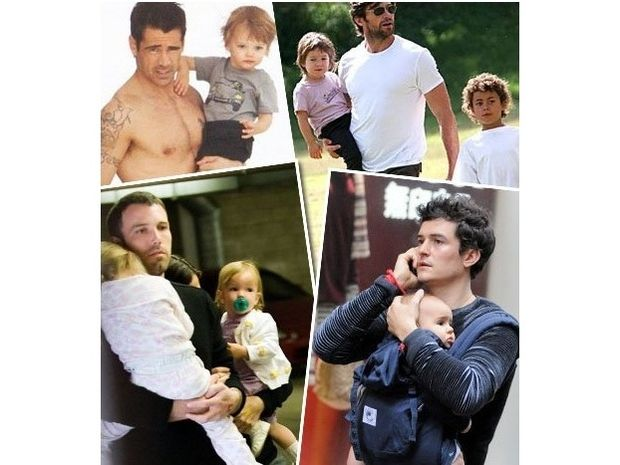 Oι πιο σέξι celebrity μπαμπάδες