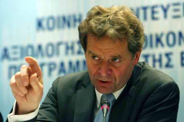 Τόμσεν: Το πρόγραμμα δεν βγαίνει. Να το ομολογήσουμε στο Eurogroup!