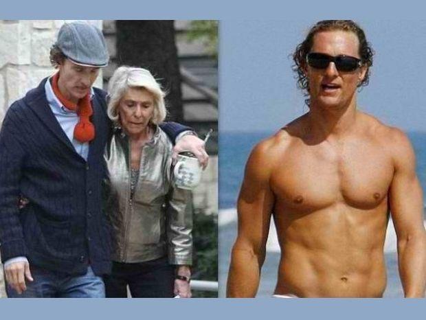 Σκελετωμένος και υποβασταζόμενος πλέον ο Matthew McConaughey (photos)