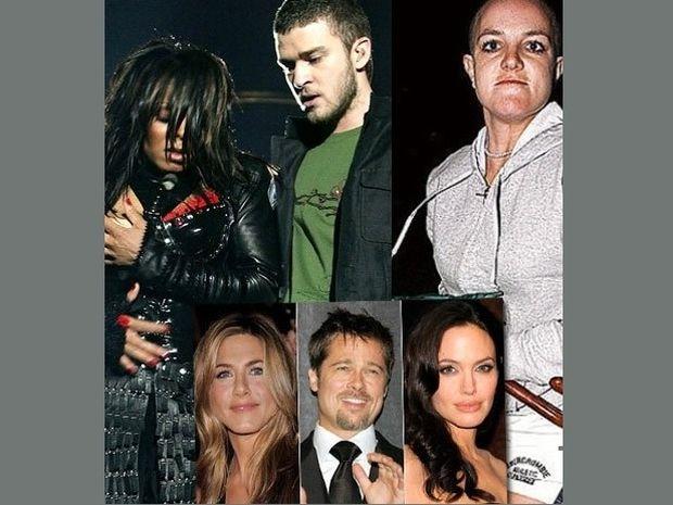 Tα μεγαλύτερα celebrity σκάνδαλα της δεκαετίας