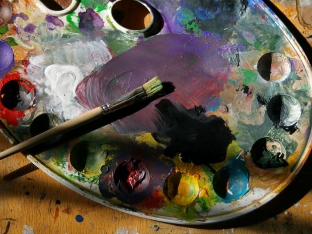 Μοντέρνα ζωγραφική - Η παλέτα των πλανητών