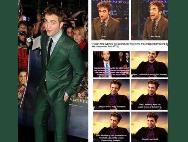 Όλες οι αποδείξεις γιατί ο Pattinson σιχαίνεται το Twillight